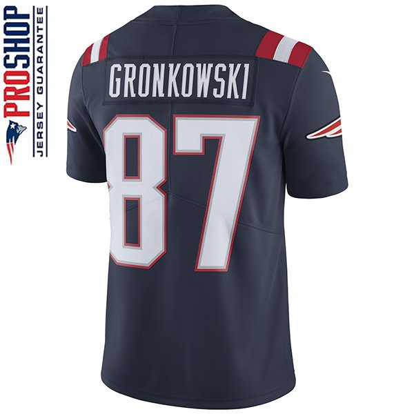 Nike Rob Gronkowski 87 Color Rush Limited JerseyNavy