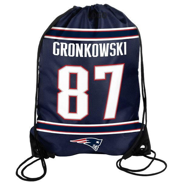 Gronkowski #87 Name & Number Drawstring Pack