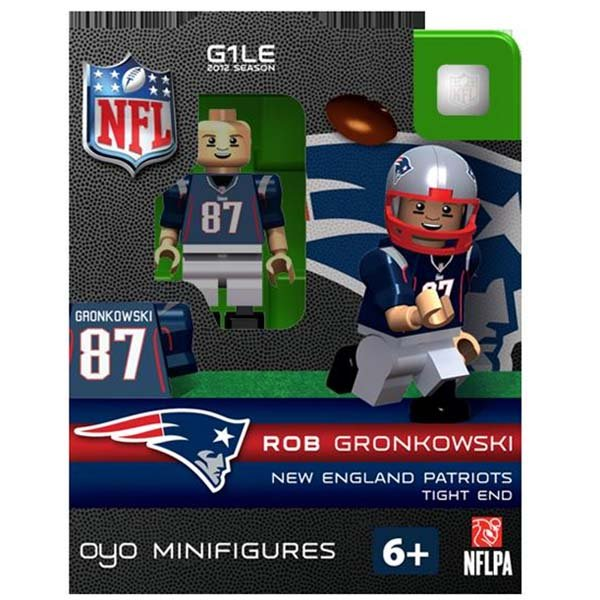 Patriots Rob Gronkowski Oyo Figure