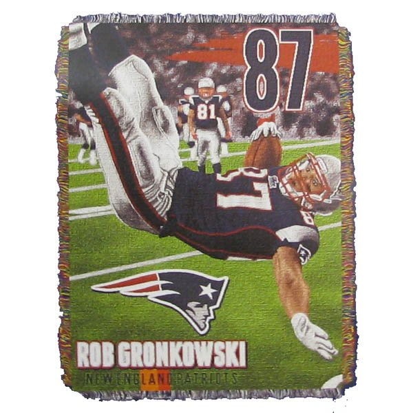 Gronk Flip Blanket