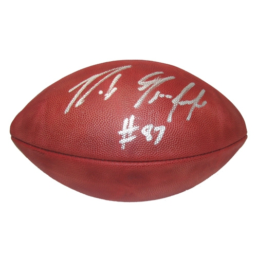 Rob Gronkowski Signed Official Football