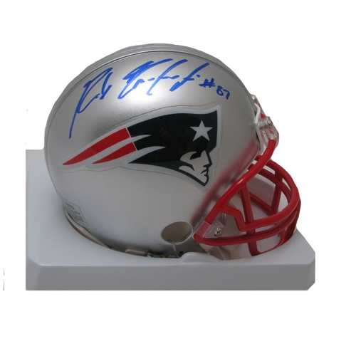 Rob Gronkowski Signed Mini Helmet