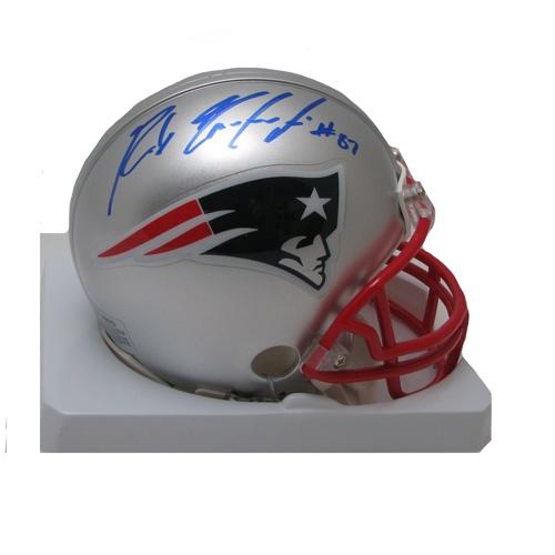 Rob Gronkowski Signed Mini Helmet