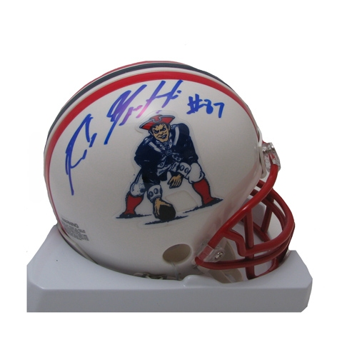 Gronkowski Signed Throwback Mini Helmet