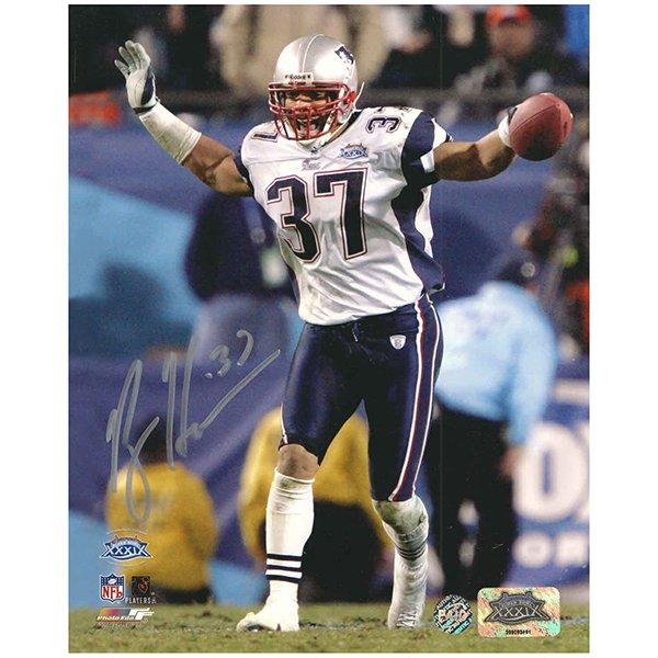 Rodney Harrison Autographed Super Bowl XXXIX  8x10