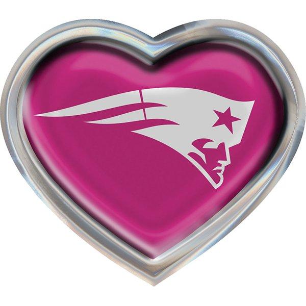 Heart Auto Emblem-Pink