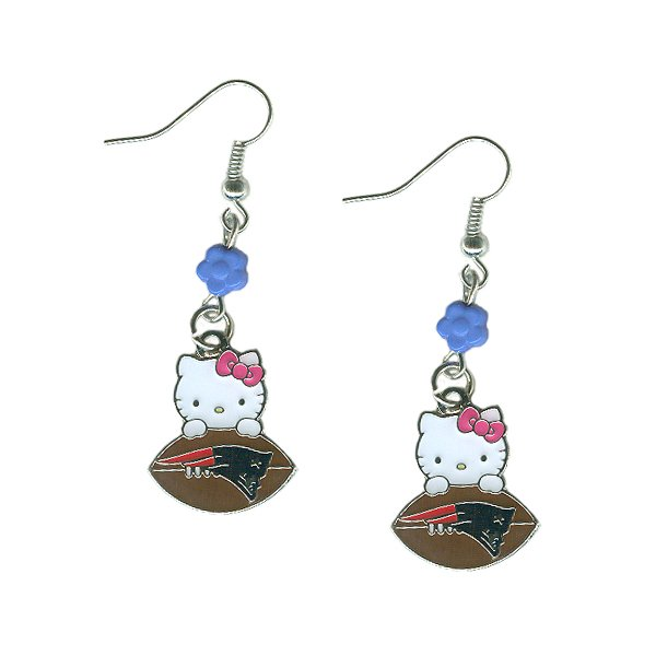 Hello Kitty Football Earrings