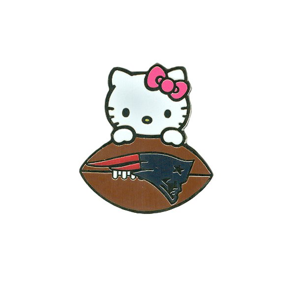 Hello Kitty Football Pin