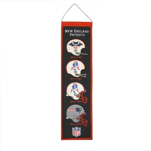 Patriots Heritage Helmet Banner