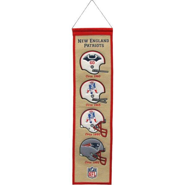 Heritage Helmet Banner 8x32 White