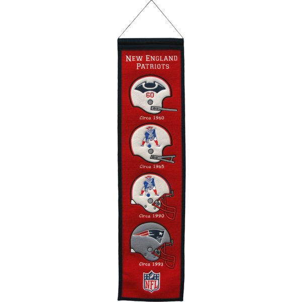 Heritage Helmet Banner 8x32 Red