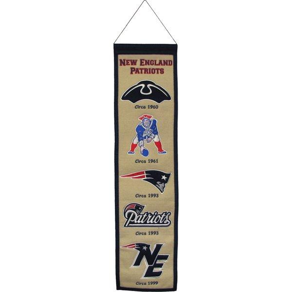 Heritage Logos Banner 8x32 White