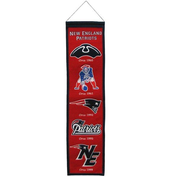 Heritage Logos Banner 8x32 Red