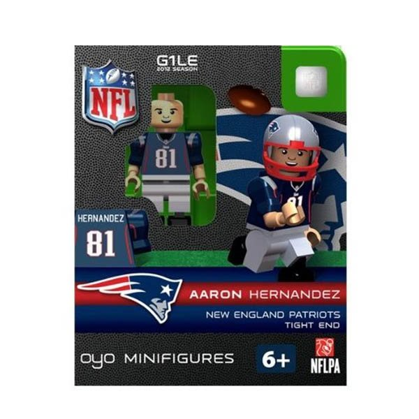 Patriots Aaron Hernandez Oyo Figure