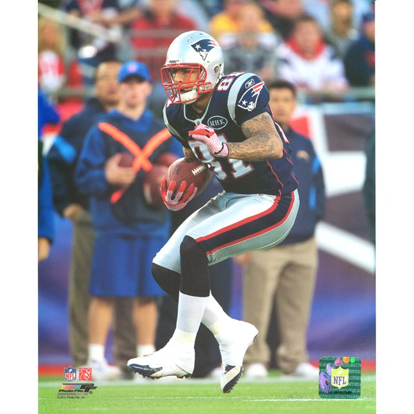Aaron Hernandez #81 8x10 Photo
