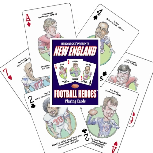 Patriots Heroes Playing Cards