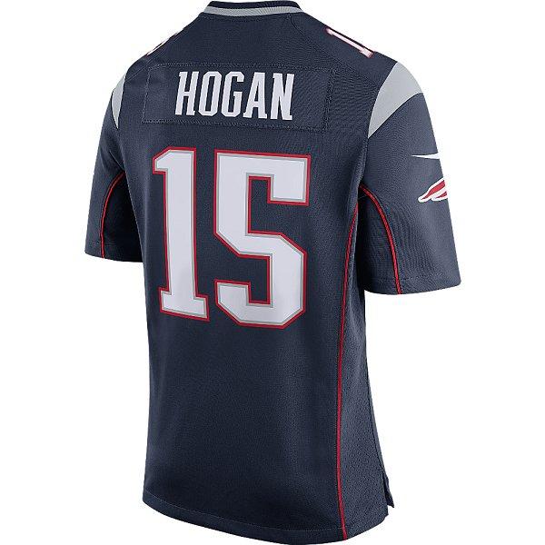 Nike Chris Hogan 15 Game JerseyNavy