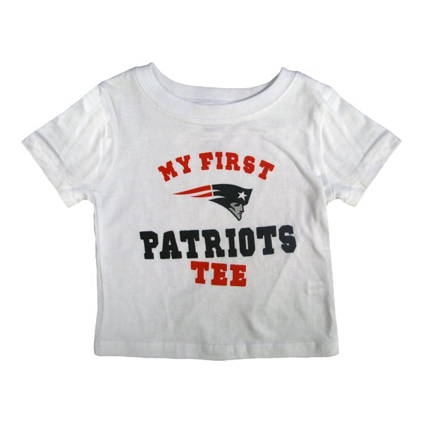 Infant My First Patriots Tee-White