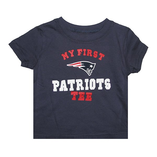 Infant My First Patriots Tee-Navy