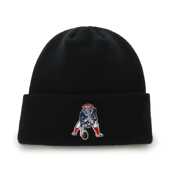 Infant/Toddler Throwback Knit Hat-Black