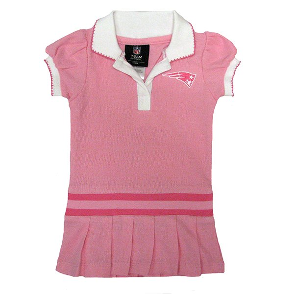 Infant Patriots Polo Dress-Pink