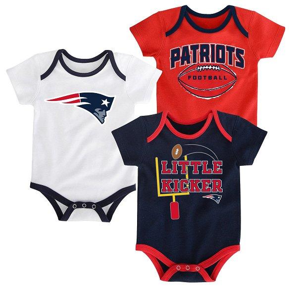 Infant Three Points Bodysuit-3pk