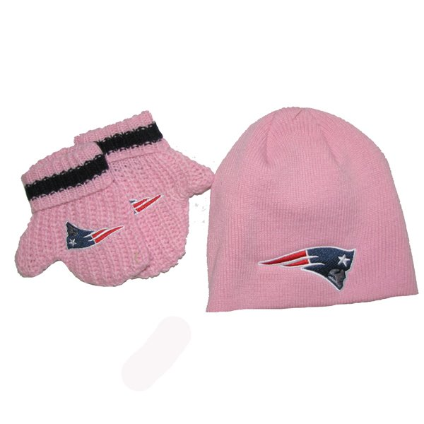 Infant Baby Rae Hat/Mitten Set-Pink