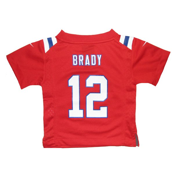 Infant Nike Tom Brady Throwback Jersey-Red