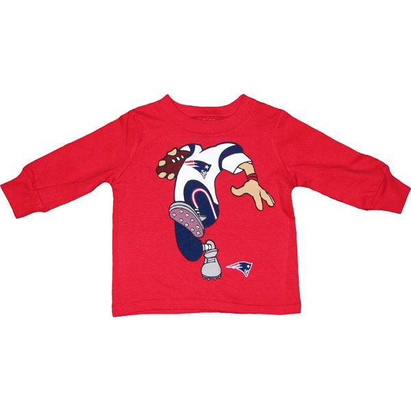 Infant Dream Job Long Sleeve Tee-Red