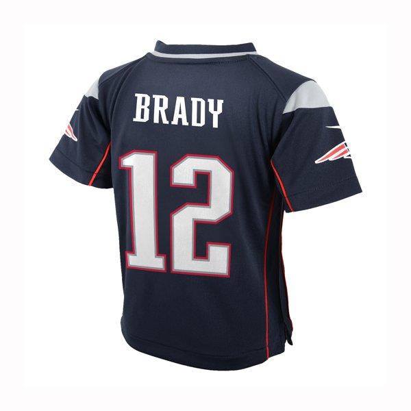 Infant Nike Tom Brady Game Jersey-Navy