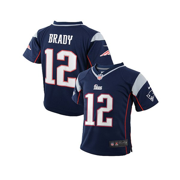 Infant Nike Tom Brady Jersey-Navy