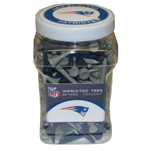 Patriots Jar of Golf Tees