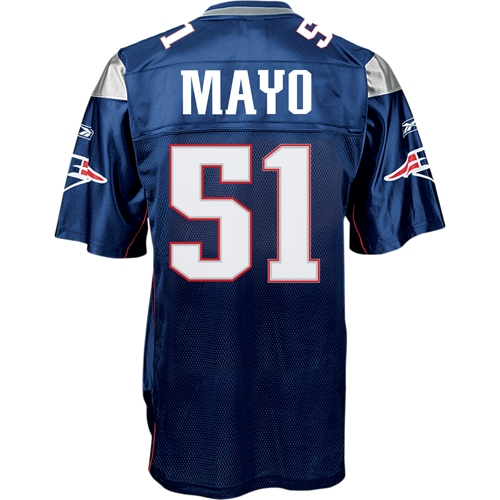Jerod Mayo Equipment Replica Home Jersey