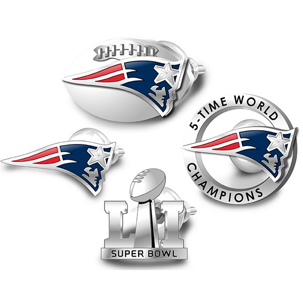 Super Bowl LI Champions Mix/Match Post Earrings