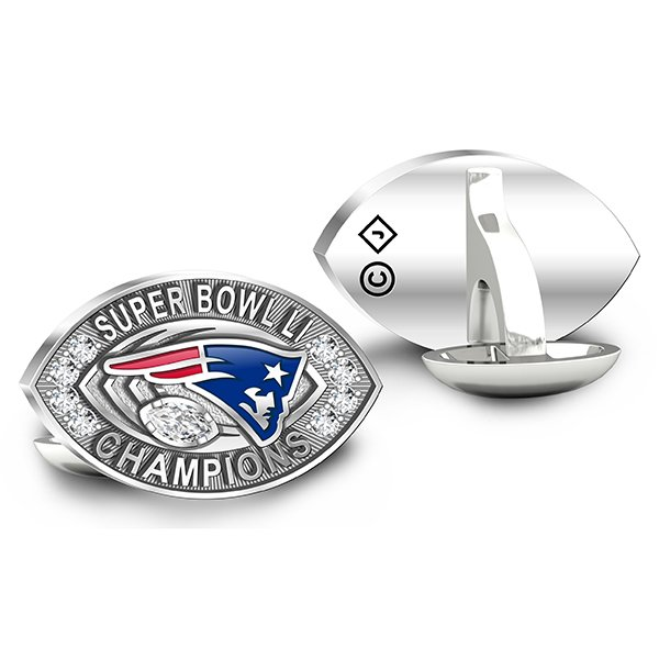 Super Bowl LI Champions Deluxe Cuff Links