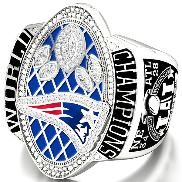 Super Bowl LI Champions Deluxe Paperweight
