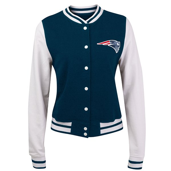 Junior Ladies Cheer Jacket-White/Navy
