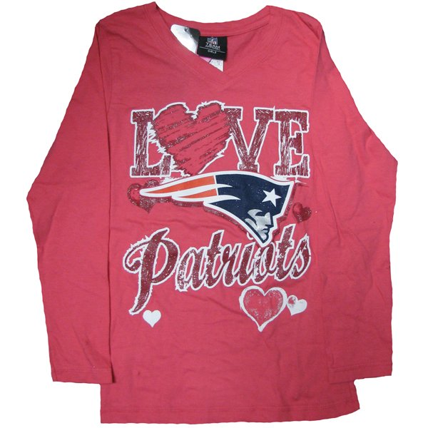 Girls Love Glitter Long Sleeve Tee-Pink