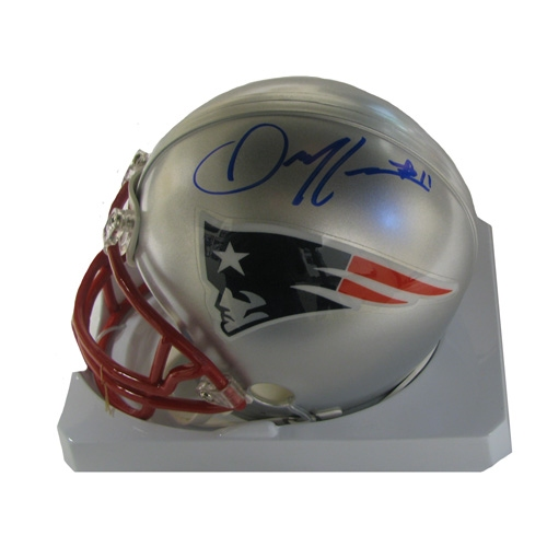 Julian Edelman Signed Mini Helmet
