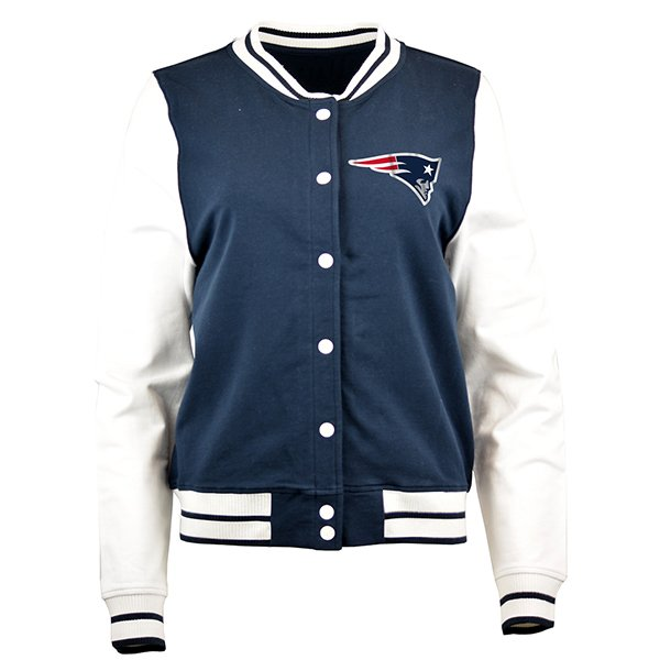 Junior Ladies Cheer Jacket-Navy/White