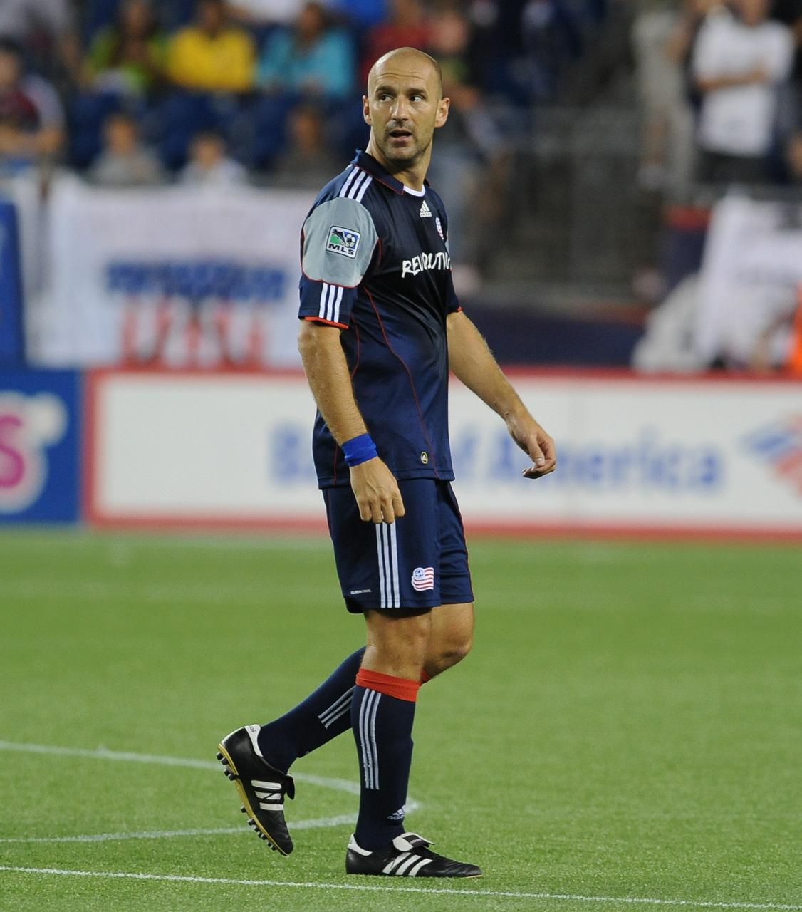 Ilija Stolica has recorded two goals and one assist in his first six league appearances with the Revs