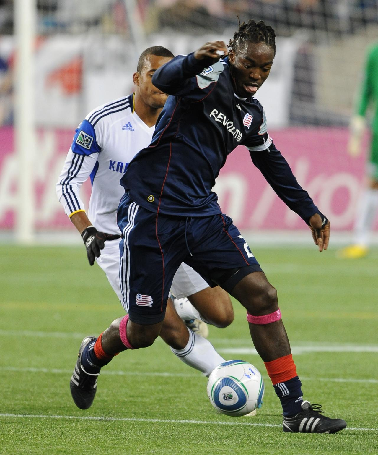 Shalrie Joseph's fourth goal in the last five games lifted the Revs to victory over the Wizards