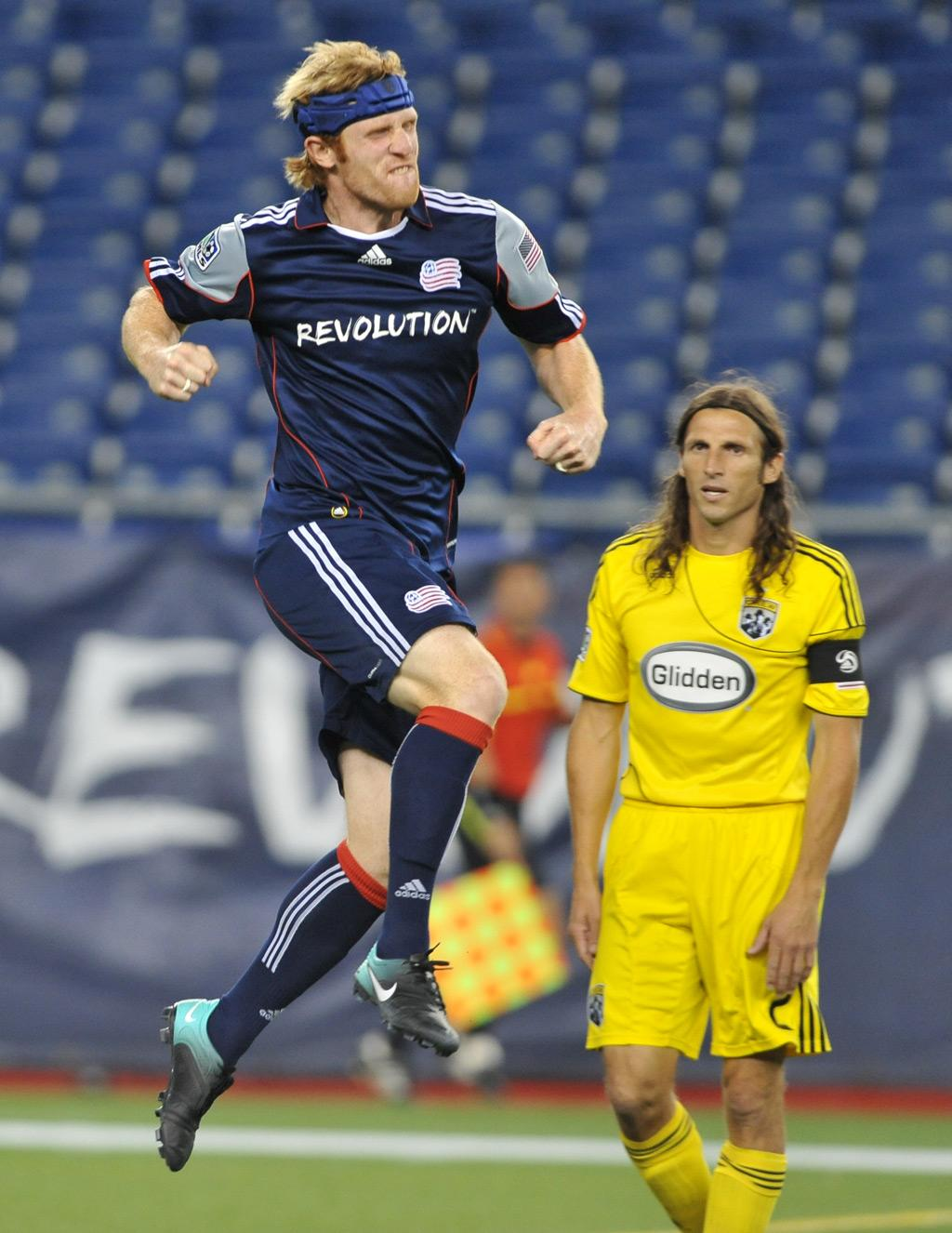 Pat Phelan scored his second goal of the season on Saturday night, but the Revs squandered another two-goal lead