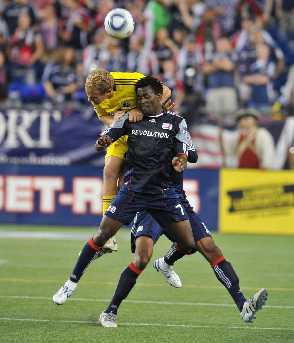 Kenny Mansally vs. Columbus Crew
