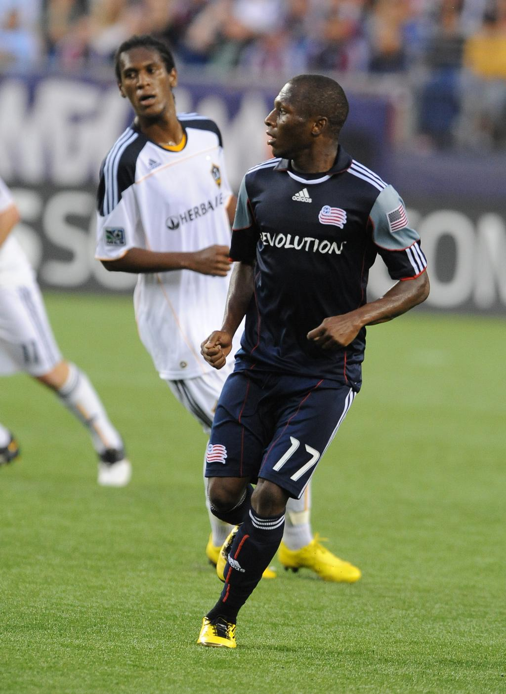 Sainey Nyassi scored his second goal of the season to give the Revs a two-goal cushion in the 74th minute