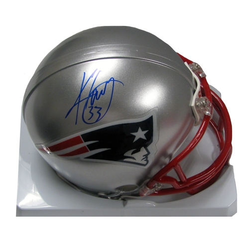 Kevin Faulk Signed Mini Helmet