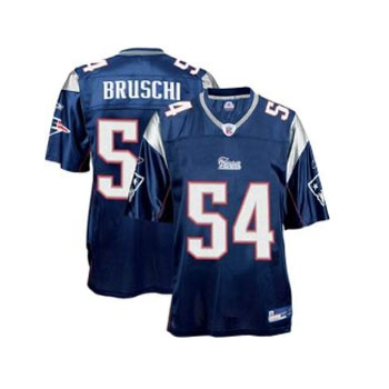 Youth Tedy Bruschi Equipment Replica Jersey