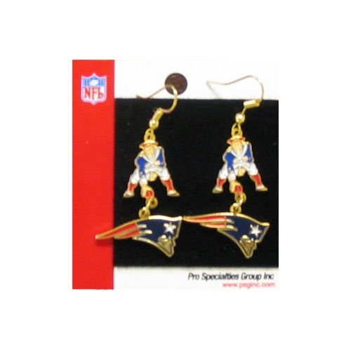 Flying Elvis / Throwback Dangle Earrings