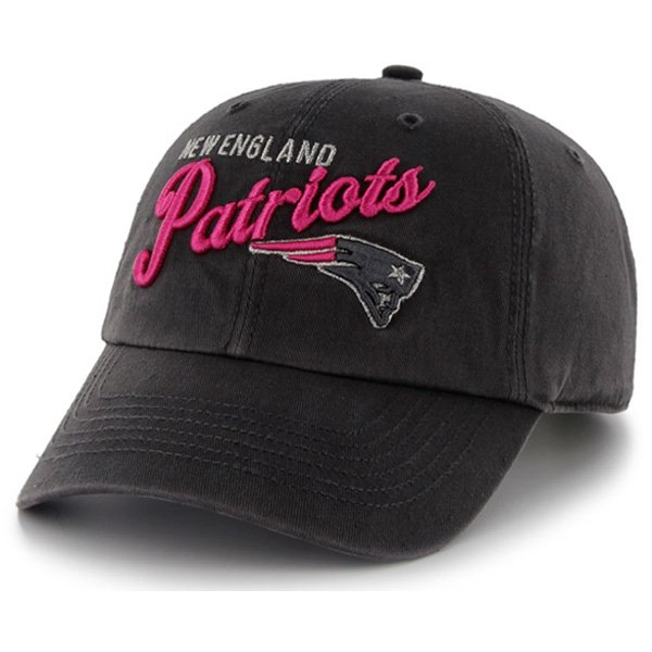 Ladies Patriots '47 Brand Audry Cap-Charcoal