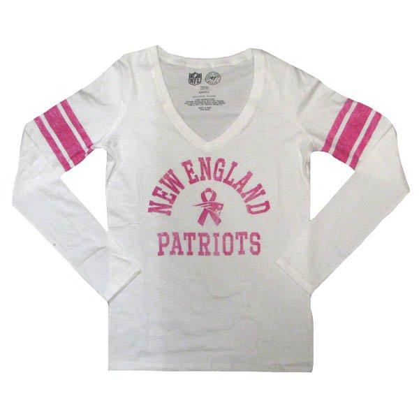 Ladies '47 Brand BCA Homerun Long Sleeve Tee